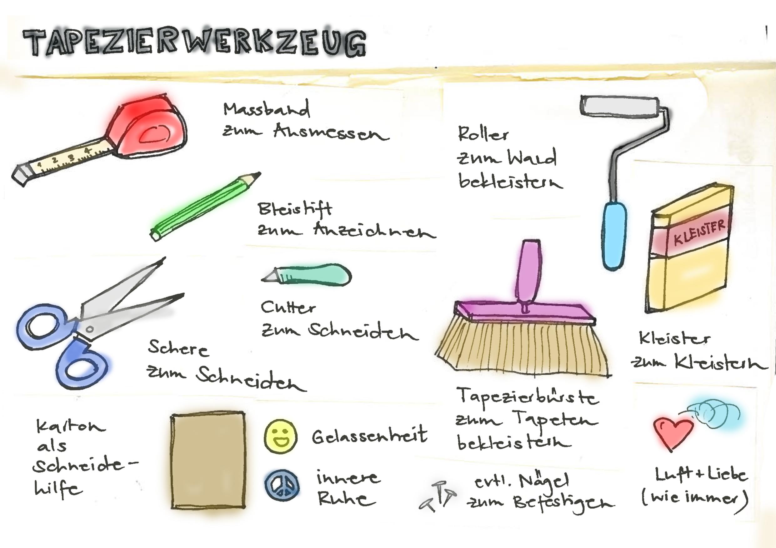 tapezieren geht ber studieren mein t raum. Black Bedroom Furniture Sets. Home Design Ideas